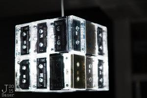 Cassettebanjeslamp