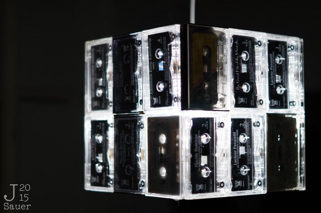 Cassettebandjeslamp