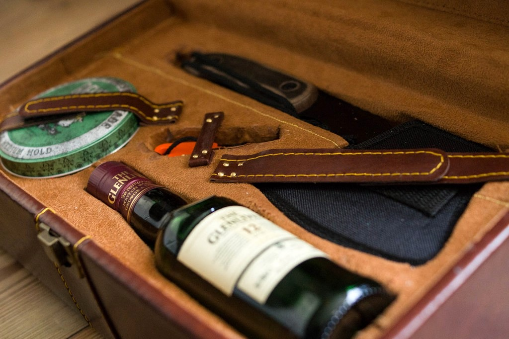 Gentleman's survival kit by Gerwin van der Kamp