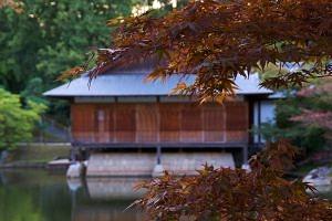 Japans Huis in de Japanse Tuin in Hasselt